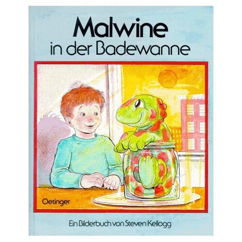 Steven Kellogg - Malwine in der Badewanne - Preis vom 23.07.2021 04:48:01 h