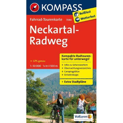 - Neckartal-Radweg: Fahrrad-Tourenkarte. GPS-genau. 1:50000. - Preis vom 15.06.2021 04:47:52 h