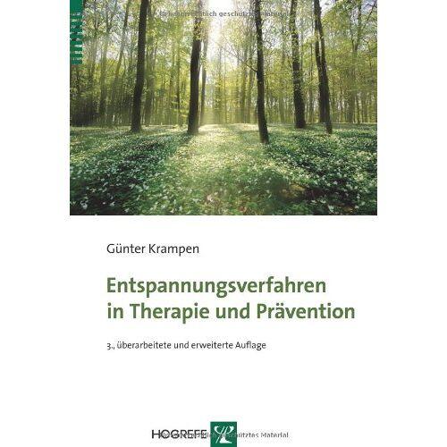 Günter Krampen - Entspannungsverfahren in Therapie und Prävention - Preis vom 12.10.2021 04:55:55 h