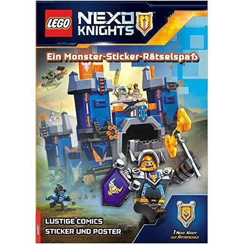 - LEGO® Nexo Knights(TM) Ein Monster-Sticker-Rätselspaß: mit Stickern und Poster - Preis vom 21.06.2021 04:48:19 h