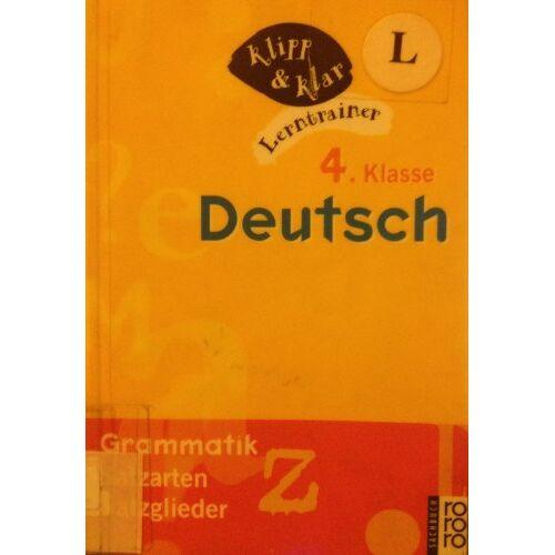 Johanna Echtermann - Deutsch, 4. Klasse, Grammatik - Preis vom 22.06.2021 04:48:15 h