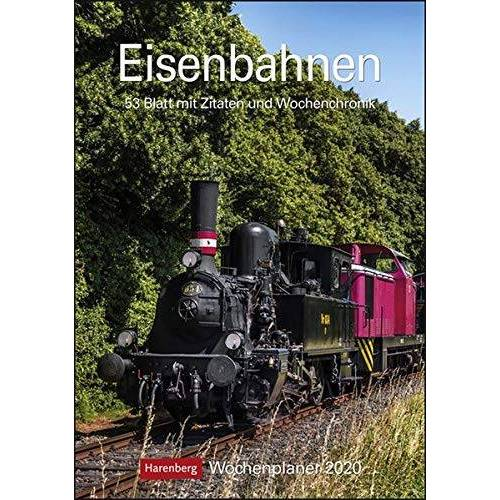 Harenberg - Eisenbahnen 2020 25x35,5cm - Preis vom 11.09.2021 04:59:06 h