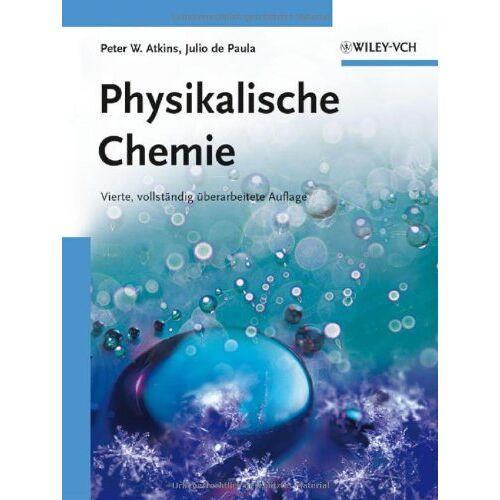 Atkins, Peter W. - Physikalische Chemie: Auflage v. 4 - Preis vom 12.06.2021 04:48:00 h