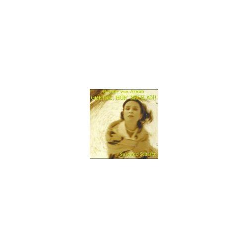 Arnim, Bettina von - Goethe, hör' mich an!, 1 Audio-CD - Preis vom 13.06.2021 04:45:58 h