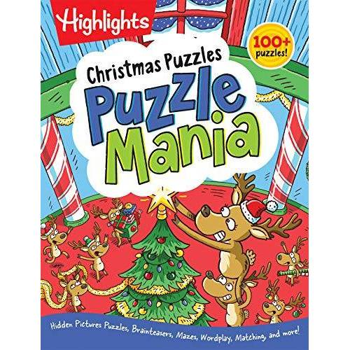 - Christmas Puzzles (Highlights Puzzlemania Activity Books) - Preis vom 15.06.2021 04:47:52 h