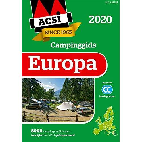 ACSI - ACSI Campinggids Europa 2020: set 2 delen - Preis vom 23.07.2021 04:48:01 h