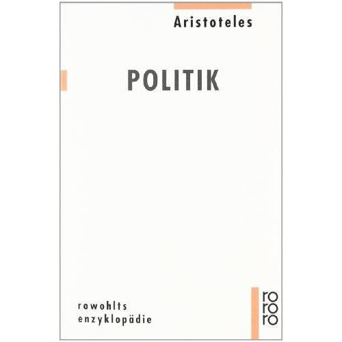 Aristoteles - Politik - Preis vom 29.07.2021 04:48:49 h