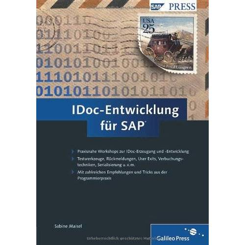 Sabine Maisel - IDoc-Entwicklung für SAP (SAP PRESS) - Preis vom 11.06.2021 04:46:58 h