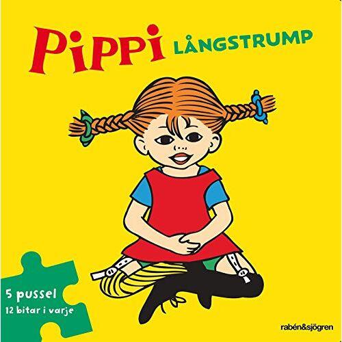 - Pippi Långstrump Pusselbok : 5 pussel med 12 bitar i varje - Preis vom 18.06.2021 04:47:54 h