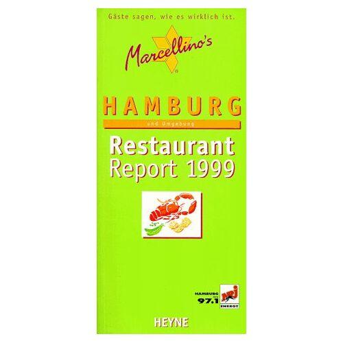 Marcellino Hudalla - Marcellino's Restaurant Report, Hamburg und Umgebung 1999 - Preis vom 09.06.2021 04:47:15 h