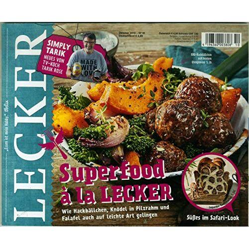 LECKER - LECKER 10/2019 Superfood a la Lecker - Preis vom 11.06.2021 04:46:58 h
