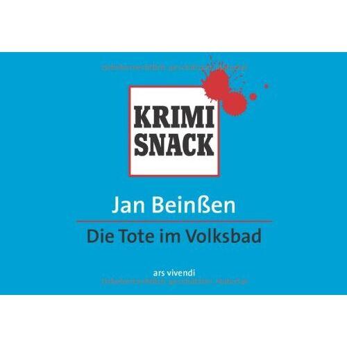 Jan Beinßen - Die Tote im Volksbad (KrimiSnack) - Preis vom 21.06.2021 04:48:19 h