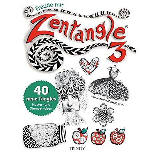 Suzanne McNeill - Freude mit Zentangle® 3: 40 neue Tangles Muster und Mixed Media Ideen - Preis vom 20.09.2021 04:52:36 h