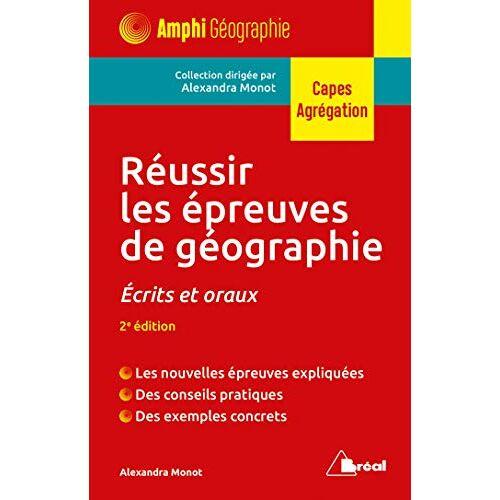 - Réussir les épreuves de géographie (Capes Géographie) - Preis vom 16.06.2021 04:47:02 h
