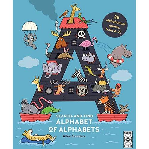 Aj Wood - Wood, A: Search and Find Alphabet of Alphabets - Preis vom 30.07.2021 04:46:10 h