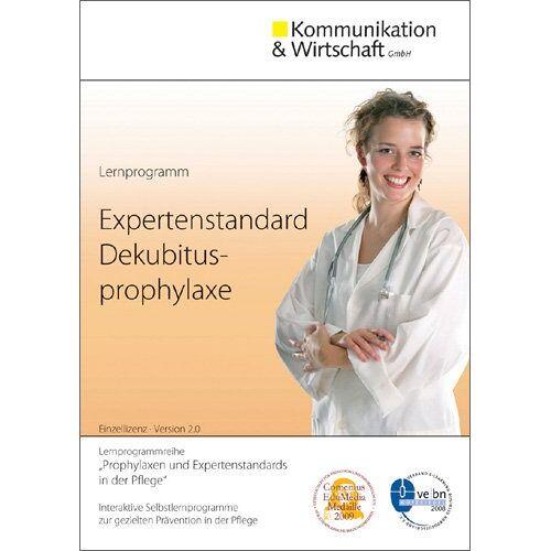 Kommunikation & Wirtschaft (Hrsg.) - Lernprogramm Expertenstandard Dekubitusprophylaxe: zur gezielten Prävention in der Pflege - Preis vom 22.06.2021 04:48:15 h