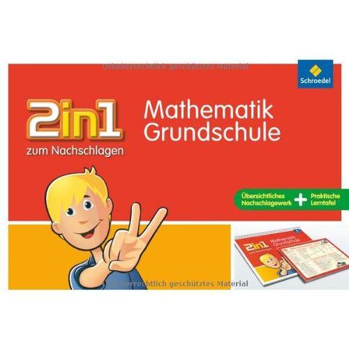 Siegfried Müller - 2in1 zum Nachschlagen, Grundschule: Mathematik Grundschule - Preis vom 19.06.2021 04:48:54 h