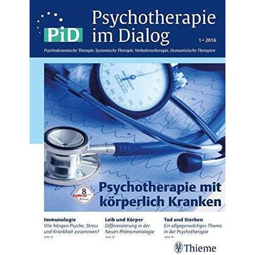 - Psychotherapie im Dialog - Psychotherapie mit körperlich Kranken - Preis vom 30.07.2021 04:46:10 h