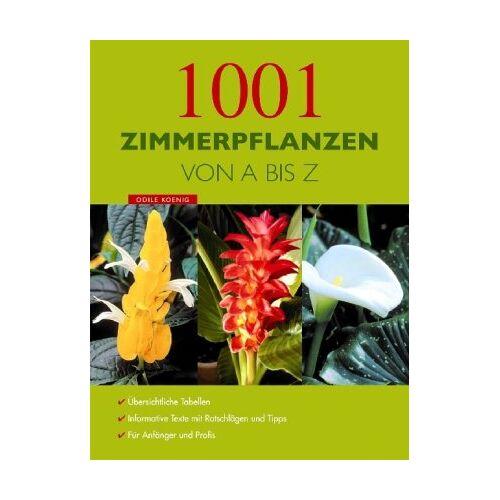 Odile Koenig - 1001 Zimmerpflanzen von A - Z - Preis vom 09.06.2021 04:47:15 h