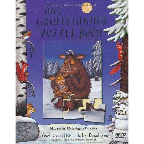Axel Scheffler - Das Grüffelokind-Puzzle-Buch: Mit sechs 12-teiligen Puzzles - Preis vom 15.10.2021 04:56:39 h