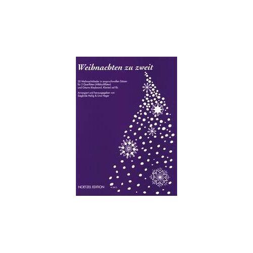 - Weihnachten zu Zweit: 30 Weihnachtslieder für 2 Flöten und Gitarre ad lib - Preis vom 21.06.2021 04:48:19 h