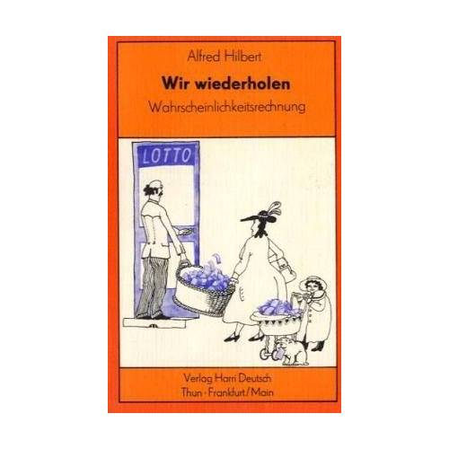 Alfred Hilbert - Hilbert, Alfred, Bd.6 : Wahrscheinlichkeitsrechnung - Preis vom 11.06.2021 04:46:58 h