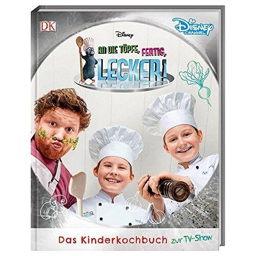 Leer - Disney An die Töpfe, fertig, lecker!: Das Kinderkochbuch zur TV-Show - Preis vom 01.08.2021 04:46:09 h