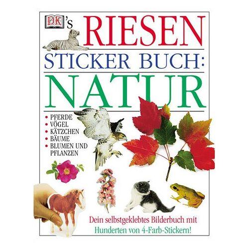 - DK's Riesen Sticker Buch, Natur - Preis vom 21.06.2021 04:48:19 h