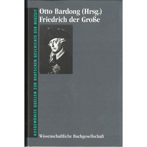 Otto Bardong - Friedrich der Große - Preis vom 20.06.2021 04:47:58 h