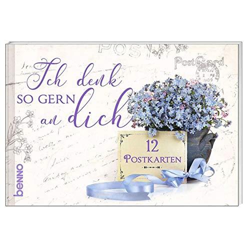 - Postkartenbuch »Ich denk so gern an dich«: 12 Postkarten - Preis vom 09.09.2021 04:54:33 h