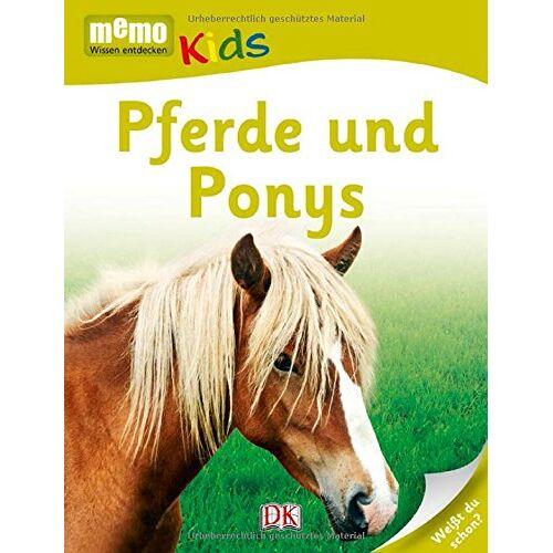 - memo Kids, Band 5: Pferde und Ponys - Preis vom 21.06.2021 04:48:19 h
