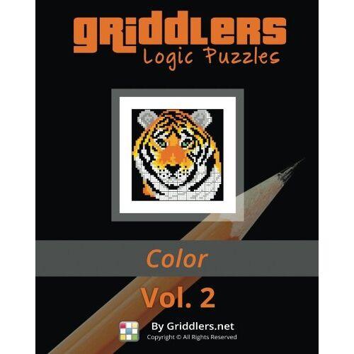 Griddlers Team - Griddlers Logic Puzzles: Color: Nonograms, Griddlers, Picross - Preis vom 21.06.2021 04:48:19 h