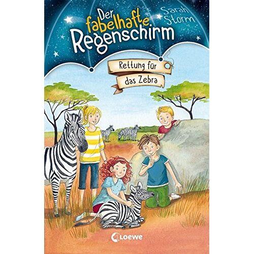 Sarah Storm - Der fabelhafte Regenschirm - Rettung für das Zebra: Band 2 - Preis vom 17.05.2021 04:44:08 h