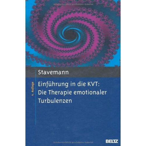 Stavemann, Harlich H. - Einführung in die KVT:: Die Therapie emotionaler Turbulenzen - Preis vom 15.10.2021 04:56:39 h