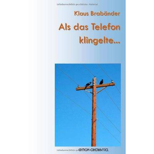 Klaus Brabänder - Als das Telefon klingelte… - Preis vom 20.06.2021 04:47:58 h