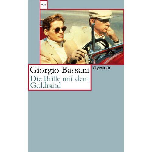 Giorgio Bassani - Die Brille mit dem Goldrand: Erzählung - Preis vom 16.05.2021 04:43:40 h