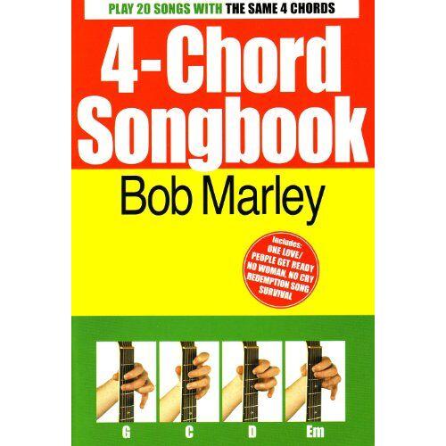 - 4-Chord Songbook: Bob Marley (Lyrics & Chords): Songbook für Gesang, Gitarre - Preis vom 21.06.2021 04:48:19 h