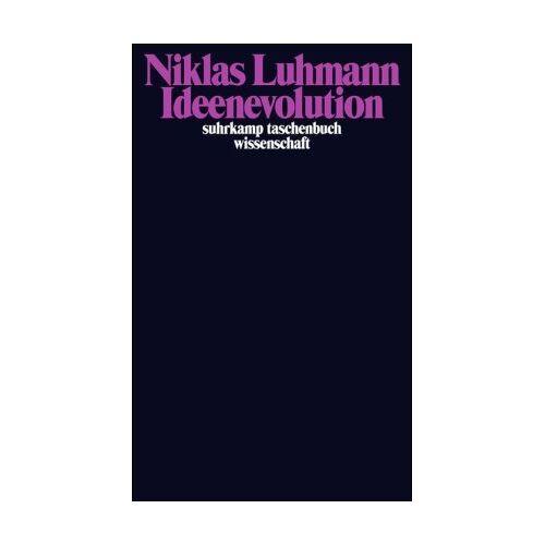 Niklas Luhmann - Ideenevolution: Beiträge zur Wissenssoziologie - Preis vom 29.07.2021 04:48:49 h