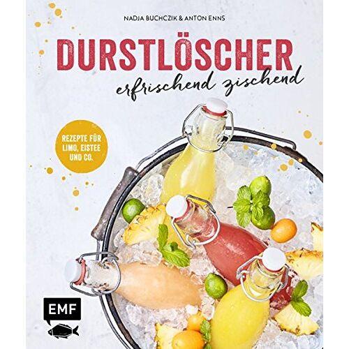 Anton Enns - Durstlöscher - erfrischend zischend: Rezepte für Limo, Eistee und Co. - Preis vom 16.06.2021 04:47:02 h