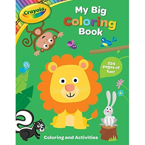BuzzPop - Crayola My Big Coloring Book (Crayola/BuzzPop, Band 1) - Preis vom 28.07.2021 04:47:08 h