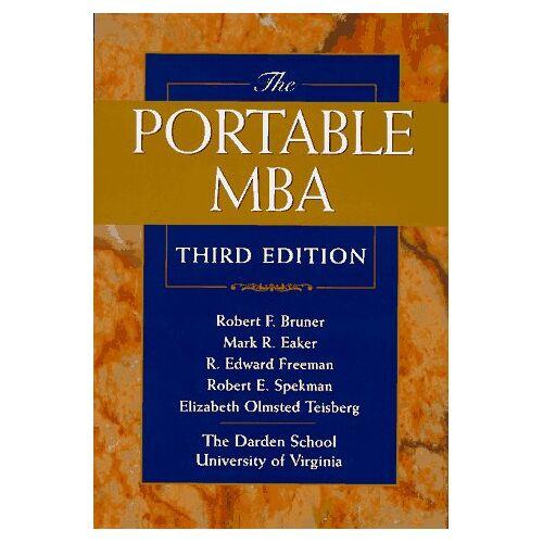 Bruner, Robert F. - The Portable MBA (Portable MBA Series) - Preis vom 13.10.2021 04:51:42 h