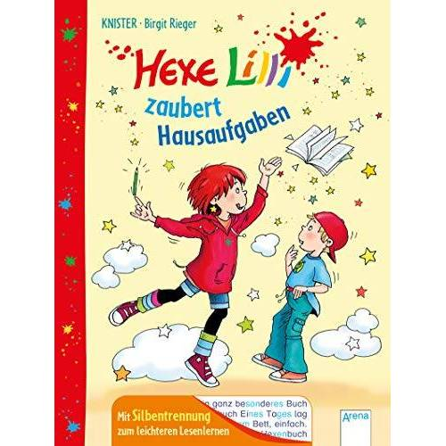 Knister - Hexe Lilli zaubert Hausaufgaben: Mit Silbentrennung zum leichteren Lesenlernen - Preis vom 15.06.2021 04:47:52 h