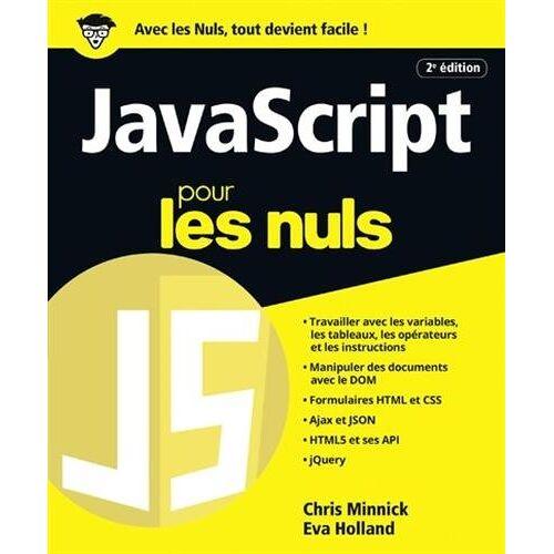 - JavaScript pour les nuls - Preis vom 12.06.2021 04:48:00 h