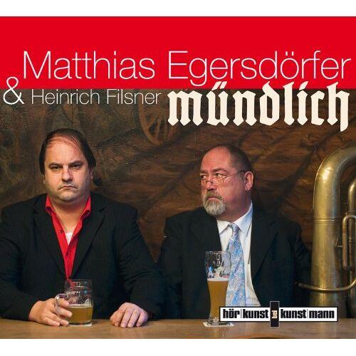 Matthias Egersdörfer - Mündlich - Preis vom 15.06.2021 04:47:52 h