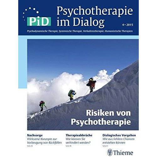 - Psychotherapie im Dialog - Risiken von Psychotherapie - Preis vom 17.06.2021 04:48:08 h