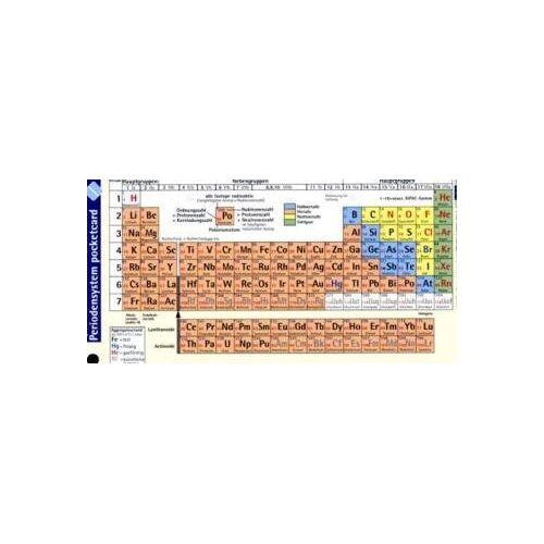 - Periodensystem pocketcard - Preis vom 18.06.2021 04:47:54 h