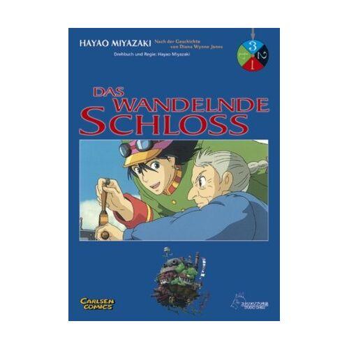 Hayao Miyazaki - Das wandelnde Schloß: Das wandelnde Schloss, Band 3: Das Buch zum Film: BD 3 - Preis vom 21.06.2021 04:48:19 h