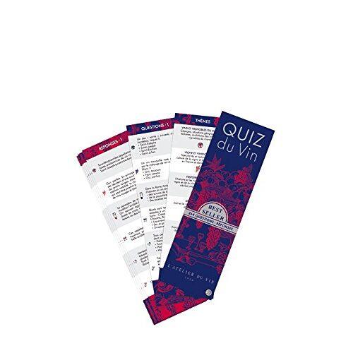 - L'Atelier du Vin - Weinquiz Quiz du vin 264 Fragen Französische Edition (056733) - Preis vom 19.06.2021 04:48:54 h