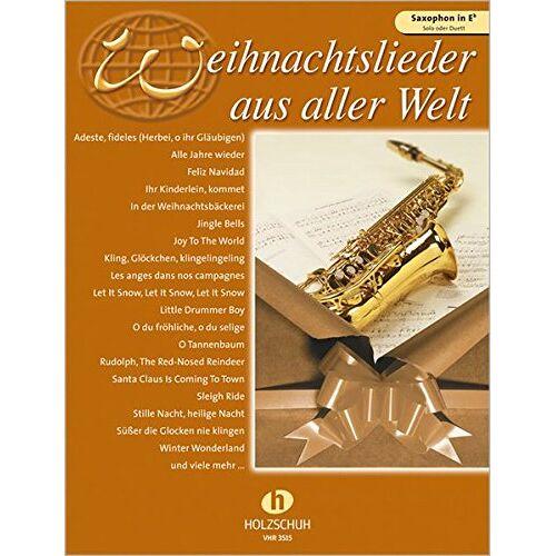 Uwe Sieblitz - Weihnachtslieder aus aller Welt, für Saxophon in Es solo oder Duett - Preis vom 16.06.2021 04:47:02 h