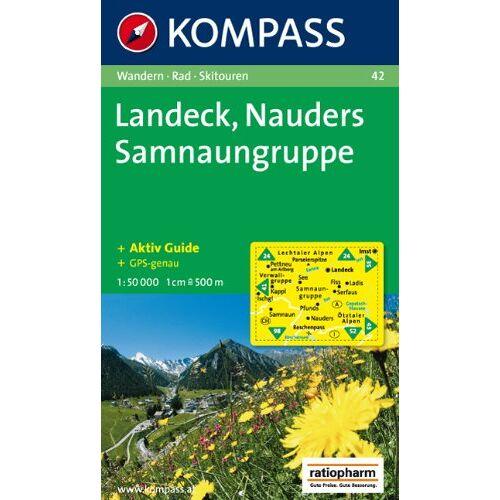 geosmile - Landeck, Nauders, Samnaungruppe: Wandern / Rad / Skitouren. GPS-tauglich. 1:50.000 - Preis vom 09.06.2021 04:47:15 h
